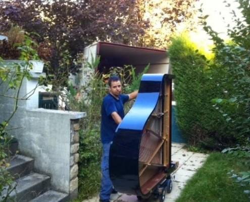 Transportes de pianos
