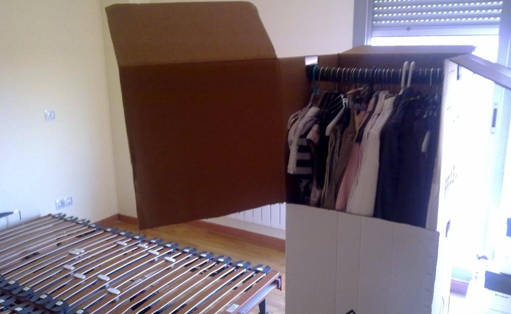 caja armario transporte