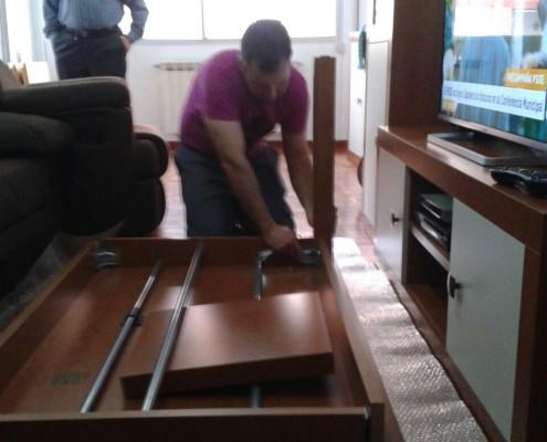 Desmontaje muebles