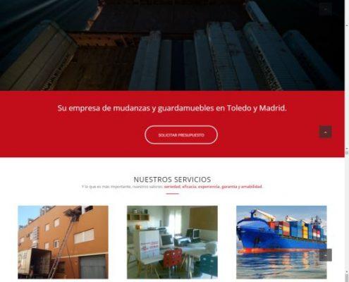 Web Mudanzas Ceymar