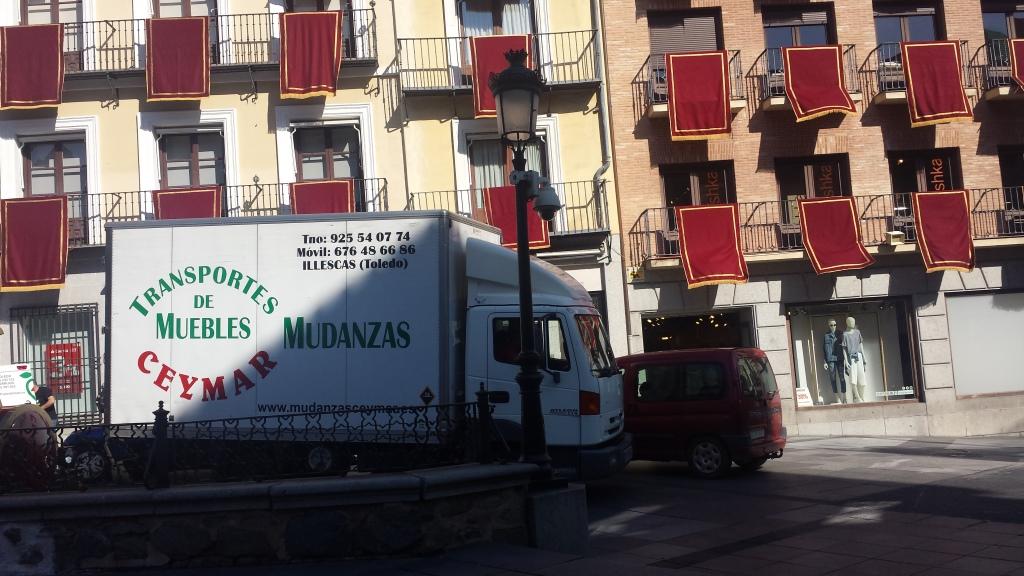Mudanza en Toledo