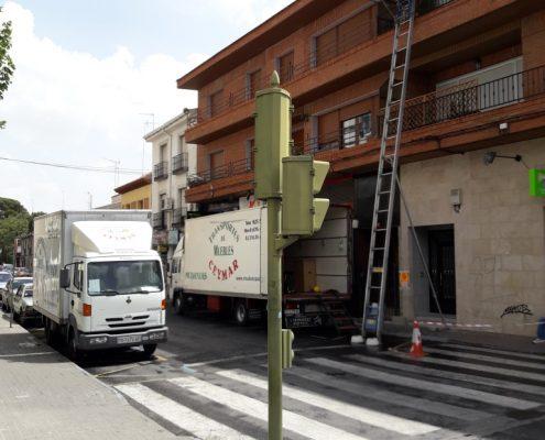 Mudanza Illescas Madrid
