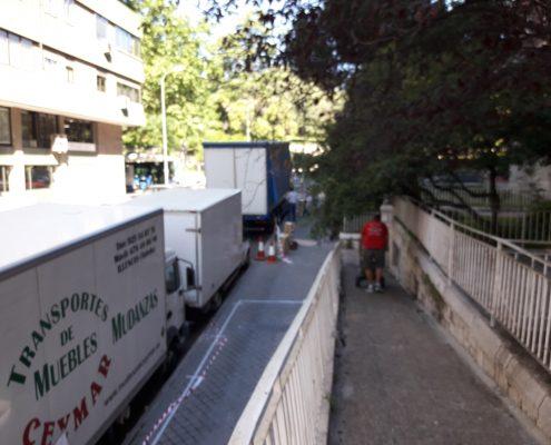 Embalando biblioteca en Madrid